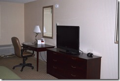 Holiday Inn Santa Maria desk