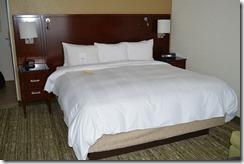 Marriott La Jolla bed
