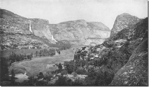 Hetch Hetchy Valley from Surprise Point