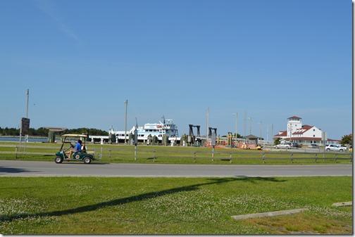 Ocracoke golf cart