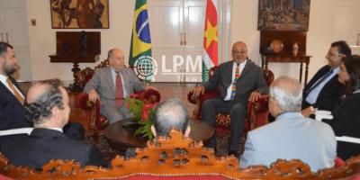 Ministro Mauro Vieira foi recebido pelo presidente Desi Bouterse em Paramaribo ( Veja as fotos ...