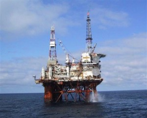 Undated image released Sunday Nov 25, 2007 by the Petrofac company of the Thistle Alpha oil platform in the North Sea. A major evacuation operation was launched after a fire broke out on a North Sea oil rig on Sunday. Ninety of the 159 people on board the remote platform, 120 miles(190km) north-west of Shetland, were airlifted to safety following the blaze. There were no casualties and the crews were returning to the rig, a spokeswoman said. (AP Photo/ Petrofac HO) ** HANDOUT UNITED KINGDOM OUT NO SALES NO ARCHIVE **