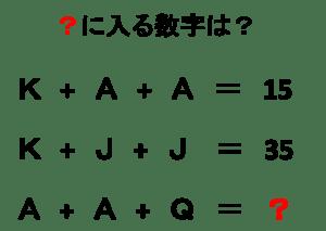 ひらめきクイズ8
