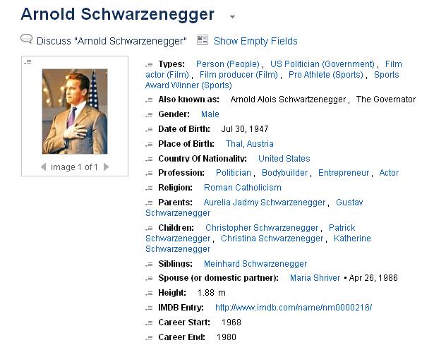 Schwartenegger Freebase screenshot