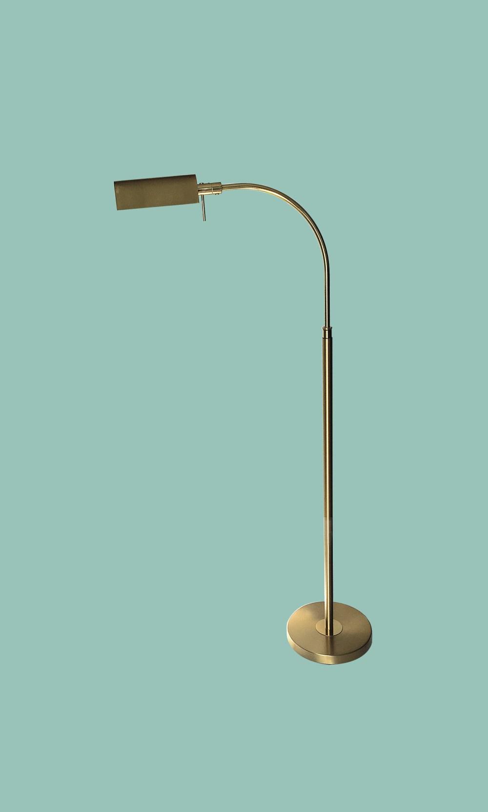 lampadaire scandinave laiton
