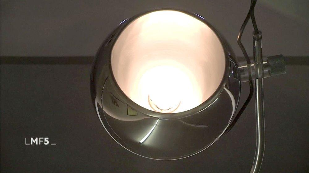 lampadaire eyeball 1970 vu dans l'émission la maison france 5