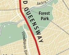 Map of proposed park