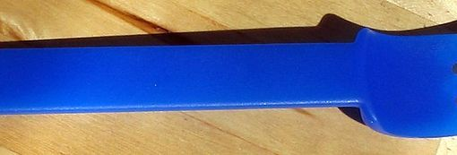 Blue Plastic Fork, by David Benbennick, from https://commons.wikimedia.org/wiki/File:Blue_plastic_fork.jpg used under CC-BY-SA 3.0.