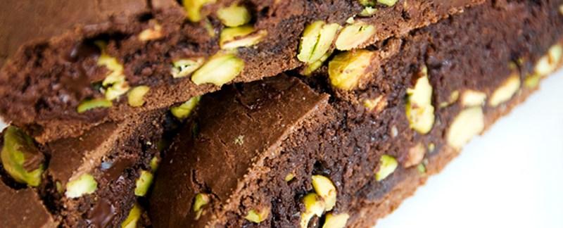 Chocolate Pistachio Biscotti - Luane's Cookies