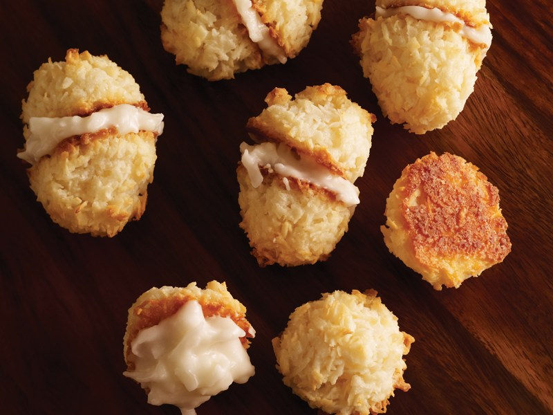 Coconut Crazy Macaroon Sandwiches