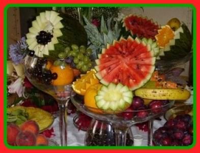 decoracao para ceia de natal com frutas 51.jpg?zoom=1 - ALGUMAS OPÇÕES DE RECEITAS BÁSICAS E FÁCEIS DE FAZER NA CEIA DE NATAL