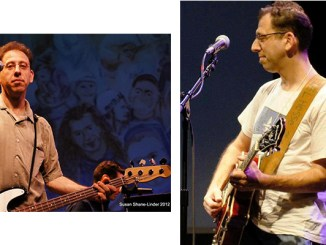 Eric Komar performing at the New CAJE 3 Conference, Montclair State University, August 2012. (Susan Shane Linder photos)
