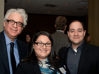 Jeff Ansell, Linda Woody, and Michael Gross