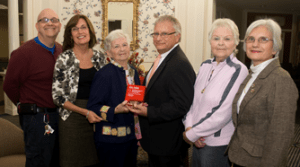 The Pines at Whiting production team poses with JASPER Award