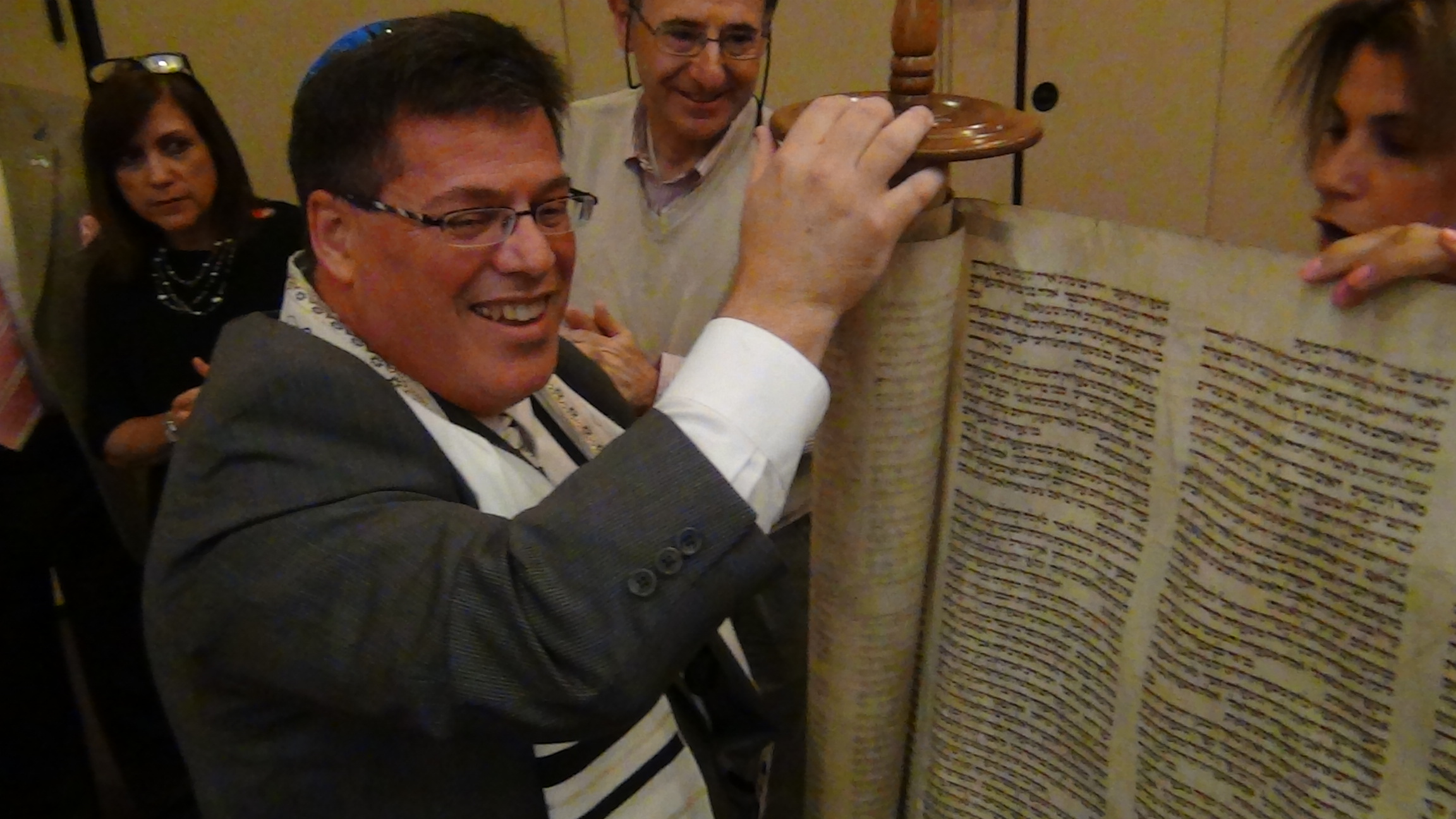 Simchat Torah at Temple Emanuel, Cherry Hill, NJ