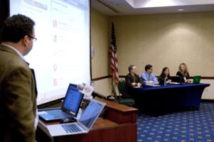 Social Media Club of Delaware panel on Superstorm Sandy gets underway