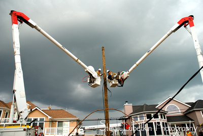 Two Cranes, Alabama Power, Long Beach Island