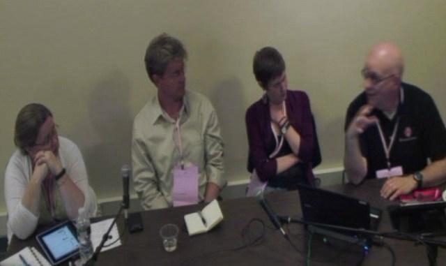 Net Tuesday panelists on social audio