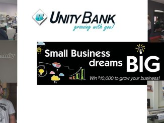 "Finalists in the Unity Bank ""Dream Big"" Contest were profiled in videos we created. Clockwise from left, they are: Cindy Cohn, Occasions Cards & Gifts, Flemington, NJ; Melanie Dare, Salon Dare, Hillsborough, NJ; Steve Carroll, NJ Sign Store, Lebanon, NJ; David Rifendifer, 610 Design, Bath, PA; and Dana Lane, Dana Lane Photography, Clinton, NJ."