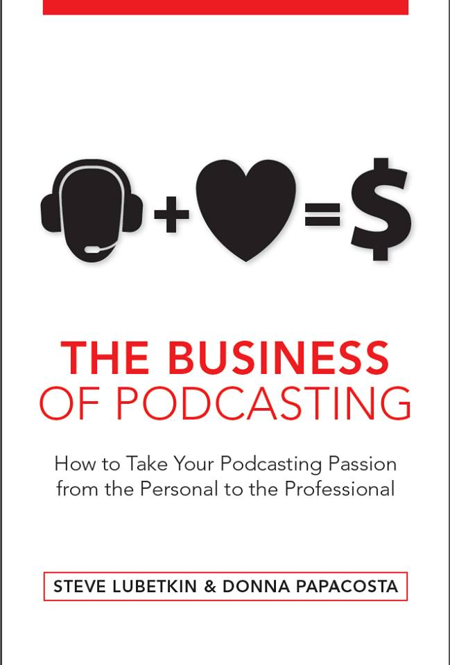 Business of Podcasting Book Cover