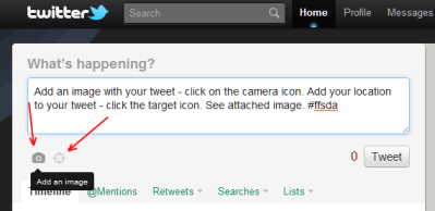 Twitter introduces share image and location, plus activity stream – Lucian Web Service