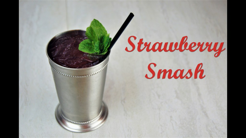 Strawberry Smash With Words