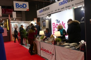 Le stand de Thebookedition.com