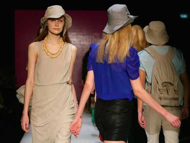 Kate Sylvester spring–summer 2009–10 at RAFW