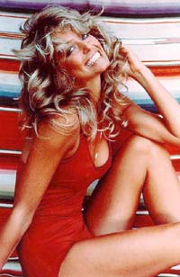 Farrah Fawcett pin-up