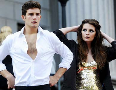 Nico Tortorella and Mischa Barton in The Beautiful Life