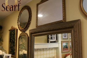 Antique Mirror Decor