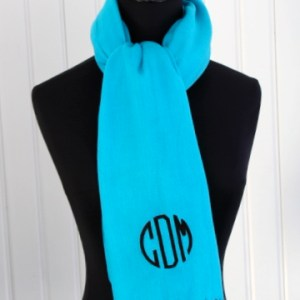 monogrammed pashmina by luckyscarf