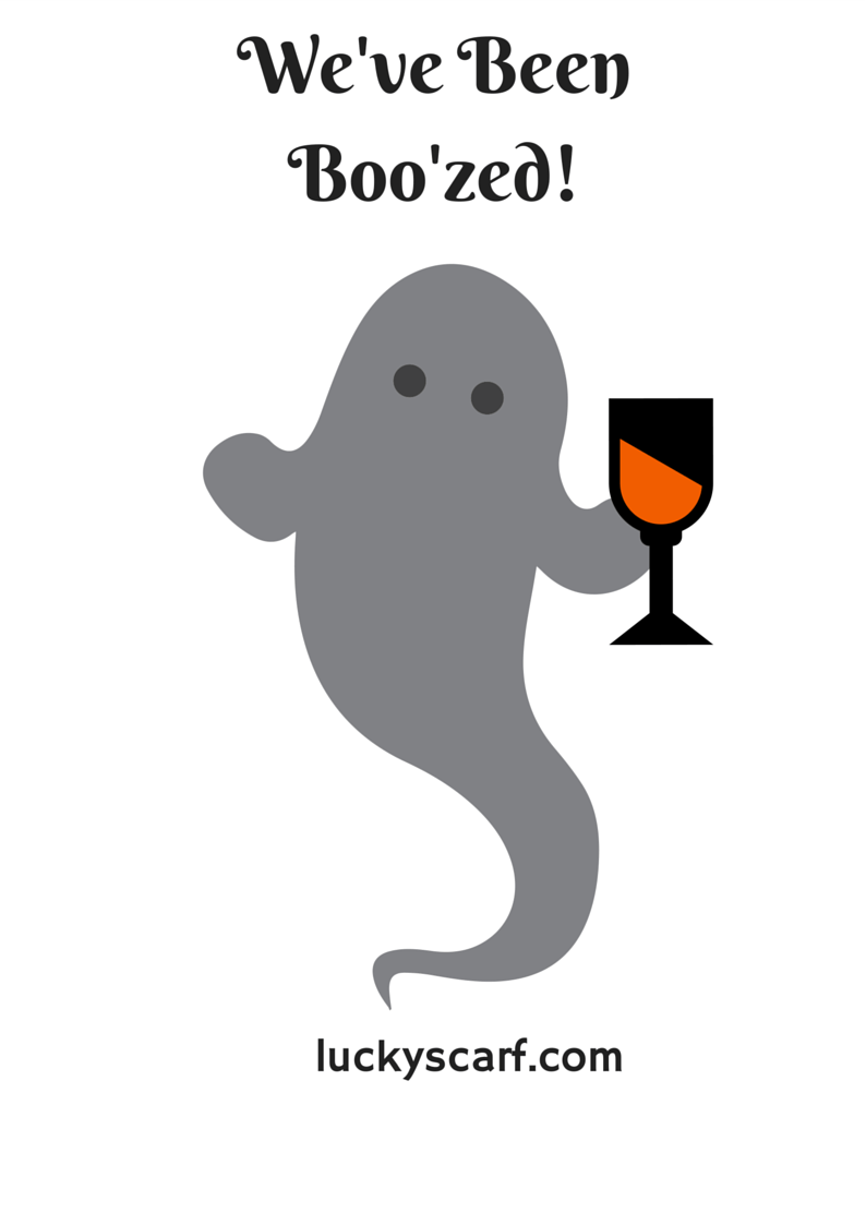 graphic relating to Boo Printable known as Youve Been Boozed - Absolutely free Printables LuckyScarf