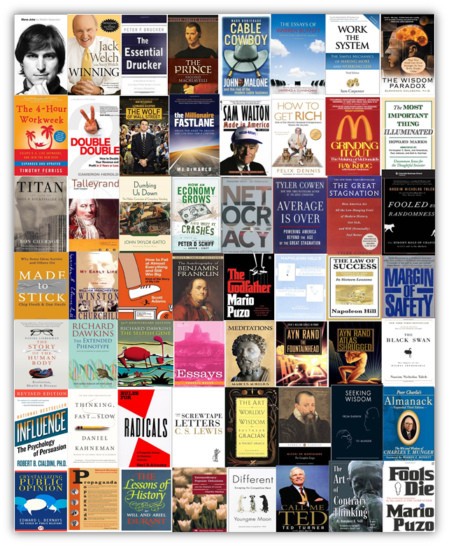61+ books and their #1 takeaway
