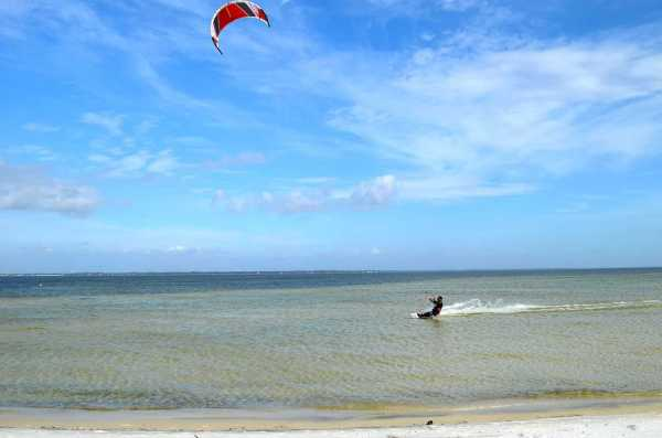 Kitesurfers in Okaloosa