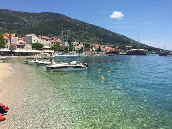 The Island of Brac, one of Croatia's Dalmatian Islands.