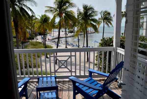 Patti Morrow of Luggage and Lipstick visiting the Florida Keys