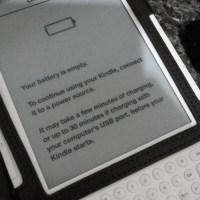 O Kindle morreu