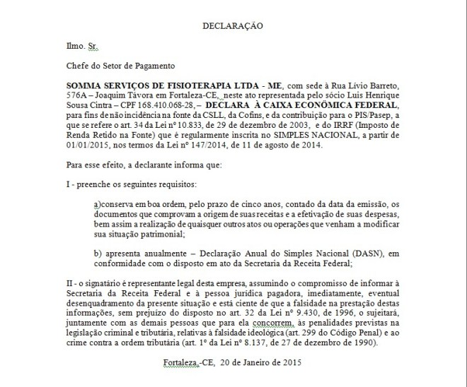 Declaração_isenção