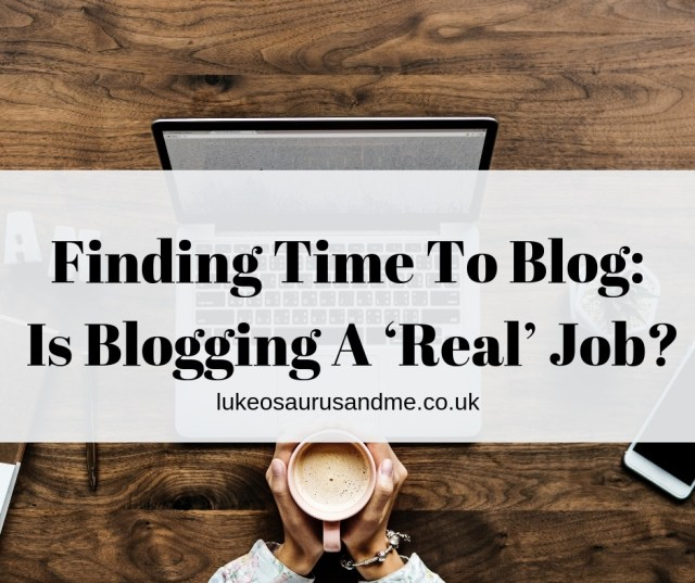 Finding the time to blog and is blogging a 'real' job? //pactalom.net