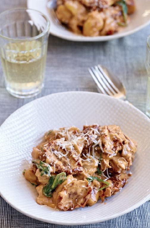 Gnocchi with wild mushroom ragú