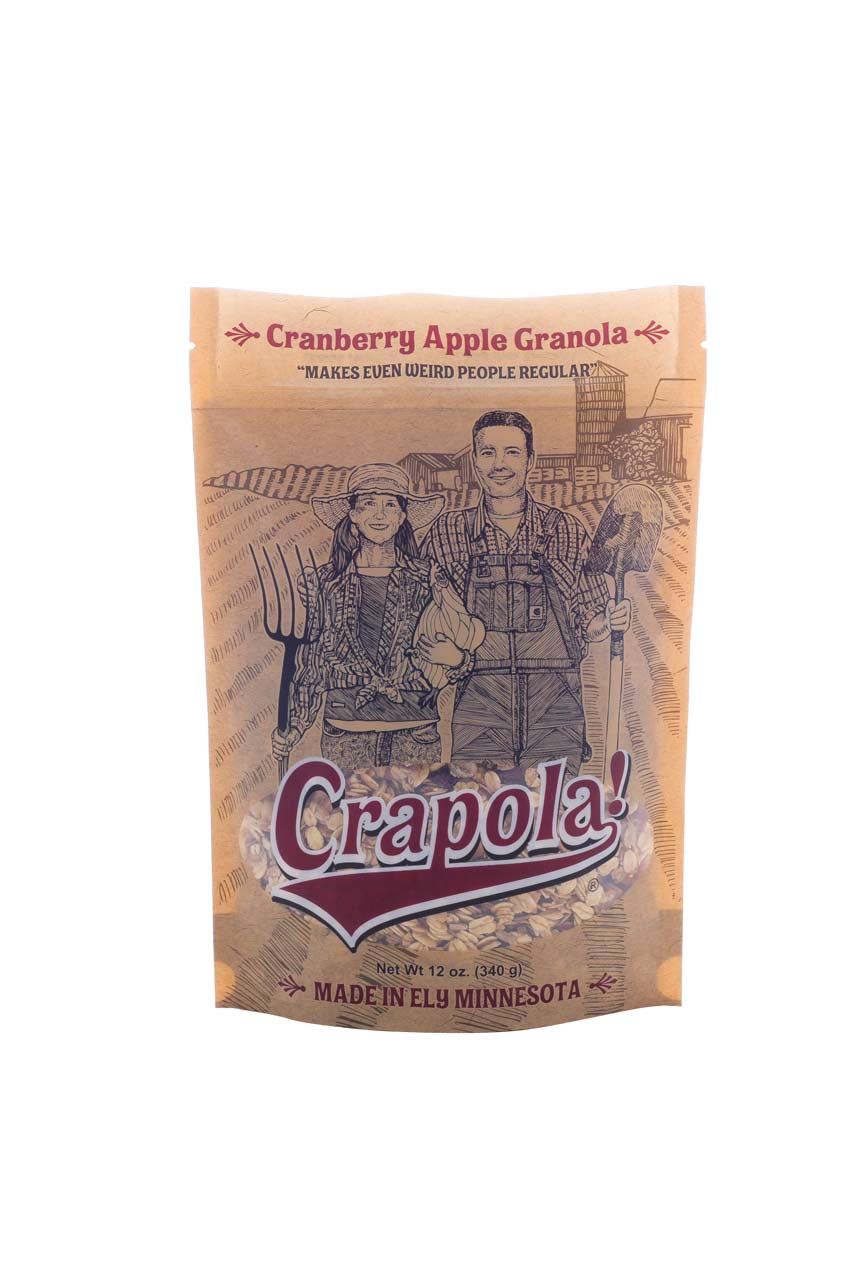 Crapola! Original Flavor – Makes Even Weird People Regular – Packaging