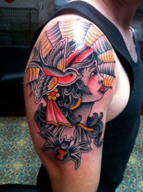 Girl Head on one of my favorite customers from Australia Aaron