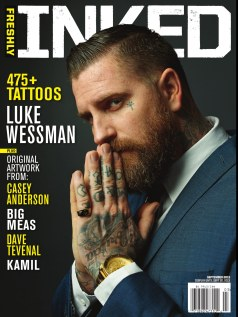 "Cover ""Freshly Inked"" 9/2013 issue"