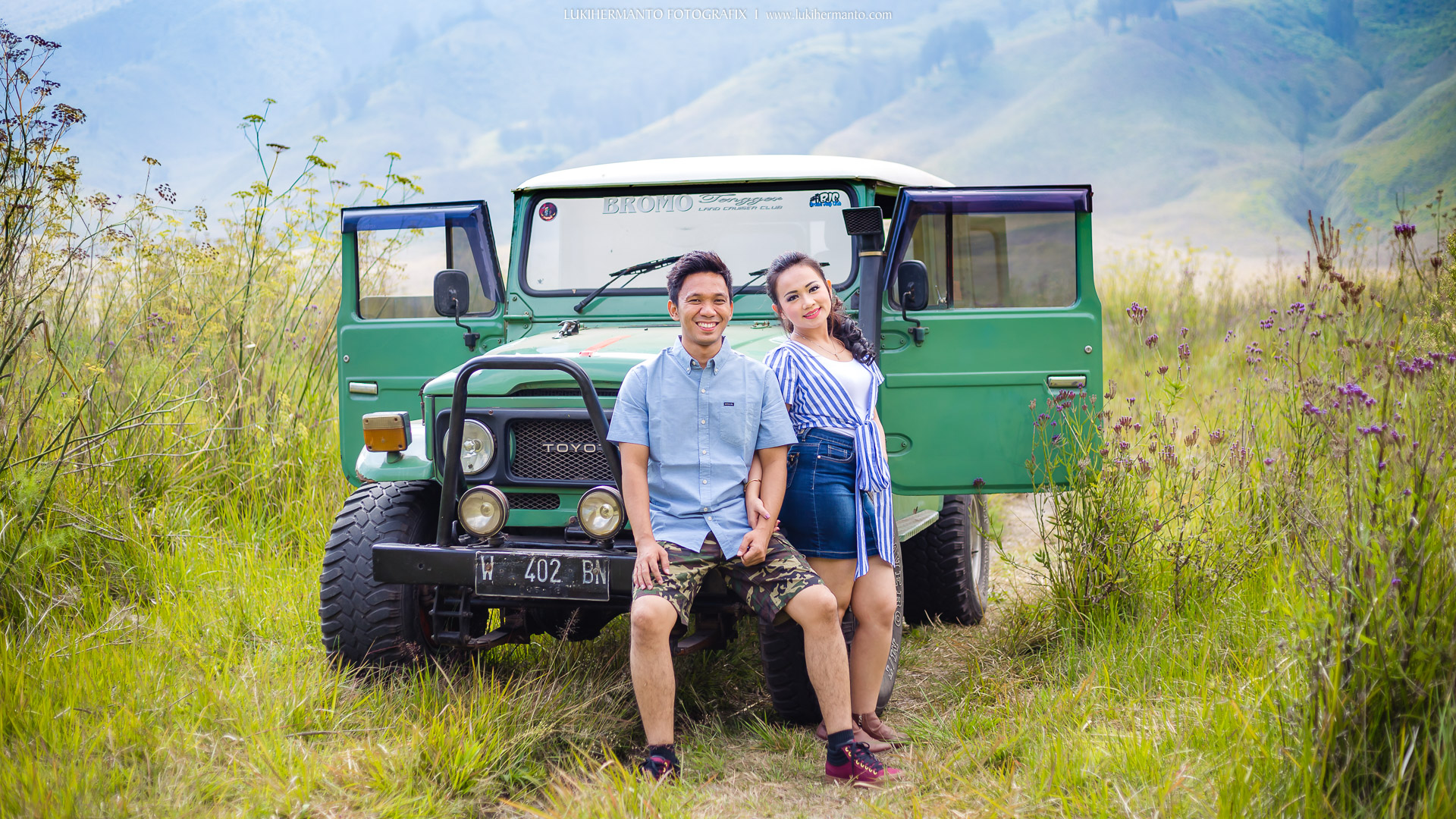 RIA + JACOB Foto Prewedding BROMO