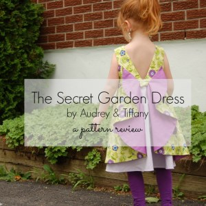 secret garden dress pattern
