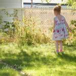 The Secret Garden dress blog tour