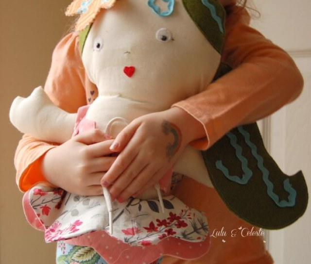Marissa Learning Doll from Ruby Jean's Closet sewn by Lulu&Celeste