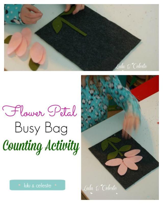 Flower Petal Busy Bag