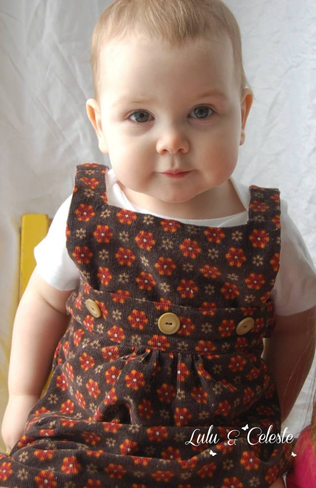 Button Up Jumper by OUSM Designs sewn by Lulu & Celeste